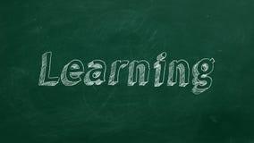 learning stock illustratie