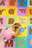 Learning alphabet Stock Photo