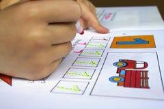 Learning basics Stock Images
