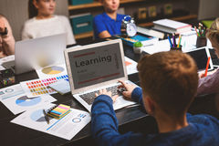 Learning is the best way to get information Royalty Free Stock Photo