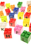 Learning blocks Stock Images