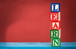 Learning Blocks Royalty Free Stock Photo