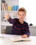 Learning boy Royalty Free Stock Images