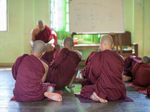 Learning Buddhism Stock Photography