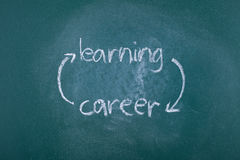 Learning and career circle Royalty Free Stock Photography