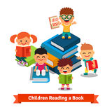 Learning children and education concept Stock Image