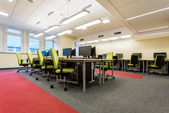 Learning in comfortable environment Stock Photography