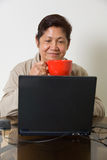 Learning the computer Stock Images
