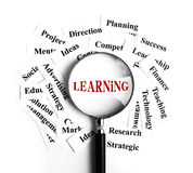 Learning concept Royalty Free Stock Photo