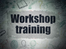 Learning concept: Workshop Training on Digital Stock Photo