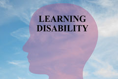 Learning Disability concept Royalty Free Stock Photos