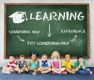 Learning Education Academics Concept. Learning Education Academics Children Concept Royalty Free Stock Image