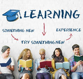 Learning Education Academics Concept. Learning Education  Experience Academics Concept Royalty Free Stock Photography