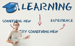 Learning Education Academics Concept. Teacher education system learning school Stock Photo