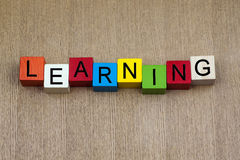 Learning - for education, business. Stock Photography