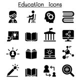 Learning & Education icons. Vector illustration Graphic Design Stock Photography