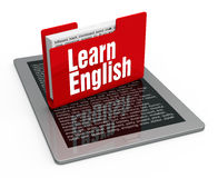 Learning english Royalty Free Stock Images