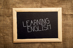 Learning english Royalty Free Stock Image