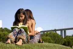 Learning and enjoying nature Stock Image