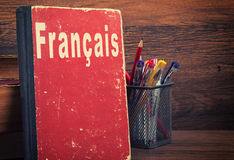 Learning French language Royalty Free Stock Photography