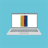 Learning graphic design , vector illustration Royalty Free Stock Photos