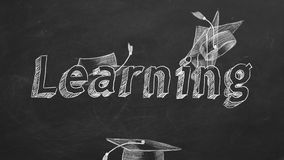 learning vector illustratie