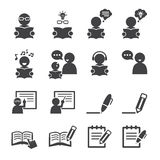 Learning icon Royalty Free Stock Image