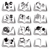 Learning icons Royalty Free Stock Photo