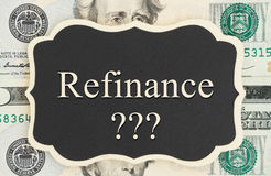 Learning if it is time to refinance Royalty Free Stock Images