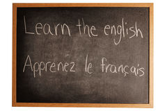 Learning a language Stock Photo