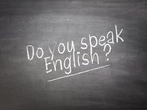 Learning language concept Stock Photo