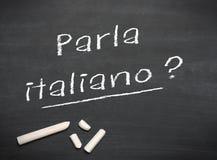 Learning language - Italian Stock Photography