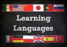 Learning Languages royalty free illustration