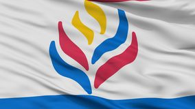 Learning And Lib Flag Closeup View. Learning And Lib Flag, Closeup View, 3D Rendering vector illustration