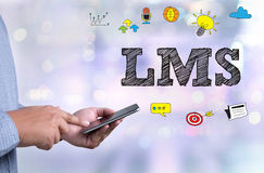 Learning Management System (LMS) Stock Photo