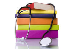 Learning medicine royalty free stock images