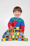 Learning My ABC's Stock Image
