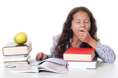Learning pressure at school Royalty Free Stock Photography