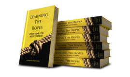 Learning The Ropes Study Guide Stack Royalty Free Stock Photos