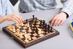Learning the rules of the game Royalty Free Stock Images