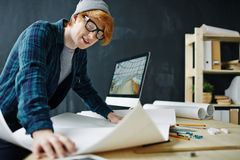 Learning sketch Stock Photography