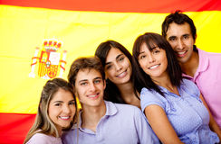 Learning Spanish as a foreign language Stock Photos