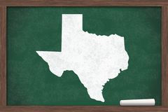 Learning about the state of Texas USA Stock Illustration