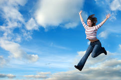 Learning To Fly Royalty Free Stock Photo