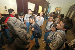Learning to Know Historic Heritage Museums Keraton Surakarta Stock Photo