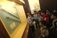 Learning to Know Historic Heritage Museums Keraton Surakarta Stock Images