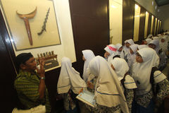 Learning to Know Historic Heritage Museums Keraton Surakarta Royalty Free Stock Image