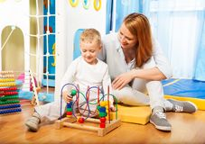 Learning to solve puzzles Stock Image