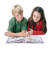 Learning together Stock Images