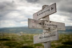 Learning, training and education
